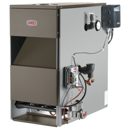 Lennox GWB8-E boiler.