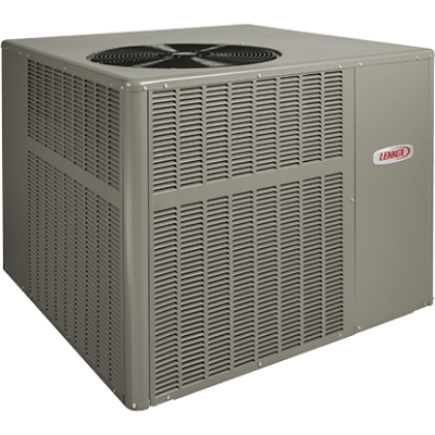 Lennox LRP16GE packaged unit.