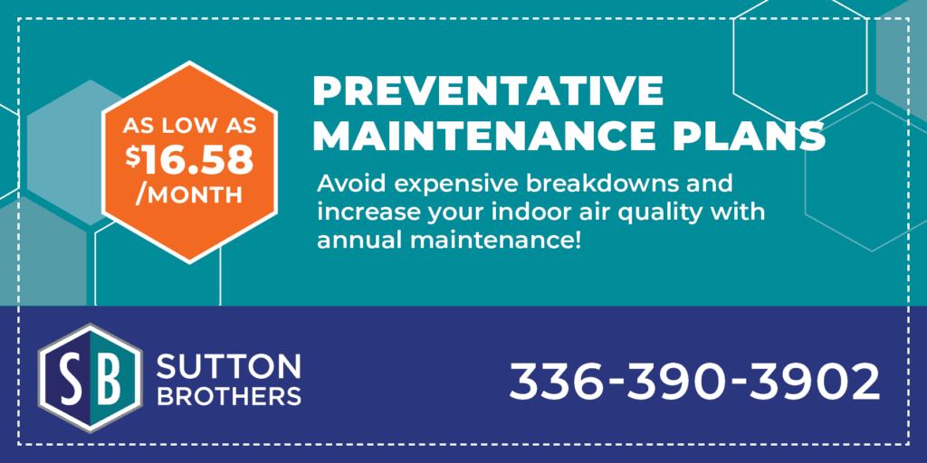 preventative maintenance plans from .58/month