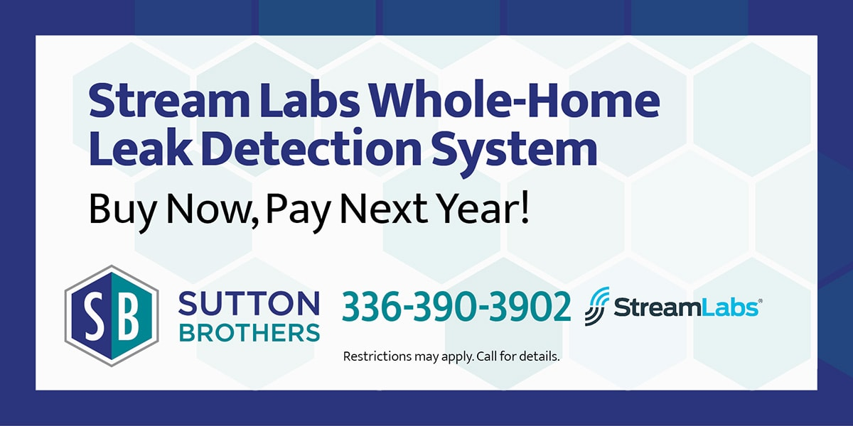 Stream Labs Whole-Home Leak Detection System | Buy Now, Pay Next Year!