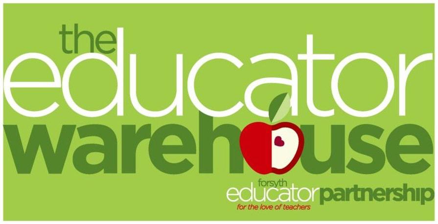 Forsyth Educator Partnership | The Educator Warehouse logo