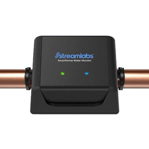 StreamLabs Monitor on a pipe